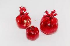Glass Pomegranates Royalty Free Stock Photos