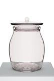 Glass pot Royalty Free Stock Photography
