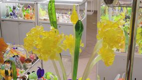 Glass products glass blower flower accessory craft fragile shop