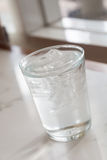 Glass of pure water Stock Photo