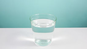 The glass of pure water (2) Stock Images