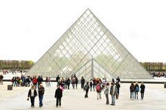 Glass pyramid Royalty Free Stock Photography