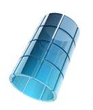 Glass rör Royaltyfria Bilder