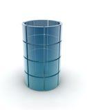 Glass rör Royaltyfri Bild