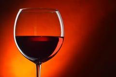 glass rött vin Royaltyfria Foton