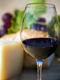 glass rött vin Royaltyfri Bild