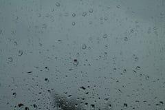glass rain Royalty Free Stock Image