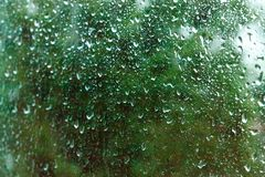 glass rain Stock Images