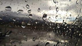 glass raindrops arkivbild