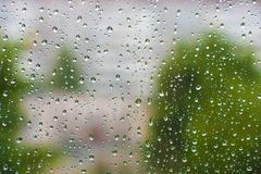 glass raindrops abstrakt bakgrundsdesign arkivbilder