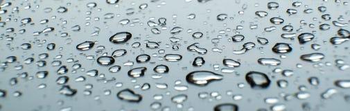 glass raindrops Våt regnig dag royaltyfri illustrationer