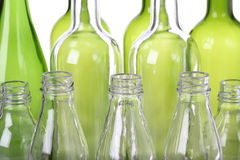Glass, recycling Stock Photo