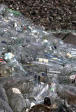 Glass at recycling plant Royalty Free Stock Photography