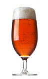 Glass of red beer Stock Photo