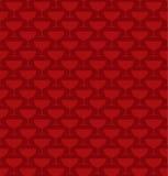 glass red för coctail Fotografering för Bildbyråer