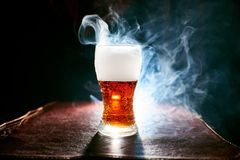 The smoke from the hookah, objects in the smoke royalty free stock images