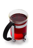 Glass of red Tea Royalty Free Stock Photos