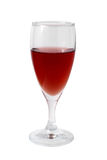 Glass of red vine Royalty Free Stock Photography