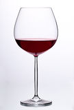 Glass with red wine. HQ studio shot. Camera: Canon EOS 5D Mark II Royalty Free Stock Photos