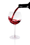Glass of red wine. For health Royalty Free Stock Images