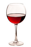Glass with red wine Royalty Free Stock Images