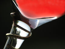 Glass with red wine Stock Image