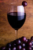 A glass of red wine Stock Photo