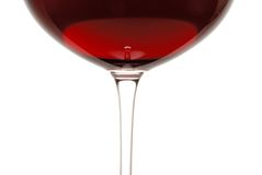 Glass of Red Wine. A glass of Pinot Noir wine Stock Photography