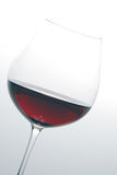 Glass of Red Wine. A glass of Pinot Noir wine Royalty Free Stock Photography