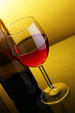 Glass of red wine Royalty Free Stock Images