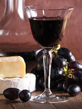 A glass of red wine Royalty Free Stock Photography