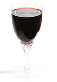 Glass of red wine, clipping path is included Royalty Free Stock Images