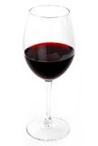 Glass of the red wine Royalty Free Stock Images