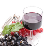 A glass of red wine Royalty Free Stock Images