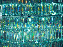 Glass reflect color light background Royalty Free Stock Image