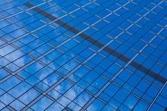 Glass reflection Stock Photo