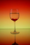 Glass and reflection Stock Photos
