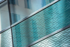 Glass Reflection Of A Building Royalty Free Stock Photography