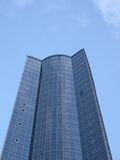 Glass reflective office building, construction Royalty Free Stock Photography