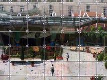 glass reflexioner Arkivfoton
