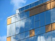 glass reflexioner Arkivbild