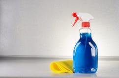 Glass rengöringsmedel Royaltyfri Fotografi