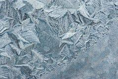 glass rimfrost Arkivbilder