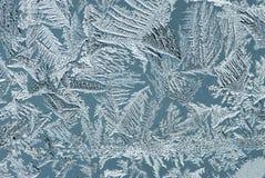 glass rimfrost Arkivfoto