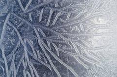 glass rimfrost Royaltyfria Bilder