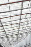 Glass roof. Of the modern shopping mall Royalty Free Stock Images