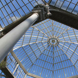 Glass roof Stock Photos