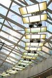 glass roof Στοκ εικόνες με δικαίωμα ελεύθερης χρήσης
