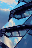 Glass Roof. And windows in modern building Royalty Free Stock Photos