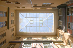 Glass Roof. In Riga, Latvia Royalty Free Stock Image